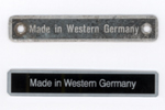 West Germany badge for sale!